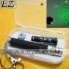 Green Laser Pointer pen Star Cap keychain Laser Pen Christmas Gift+Battery+box+keychai IP-0855 Wholesale/Retail
