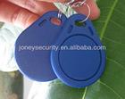Blue 13.56mhz RFID Mifare keyfob