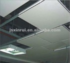 Decorative Commercial Square Ceiling Tiles Clip-in/Lay-in/Hook-on Made of Aluminum