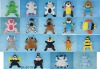 plush toy 19 animals hand puppet