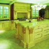 Classic Solid wood kitchen cabinet (KC 3157)