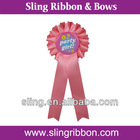 Ribbon bows for winner's decoration