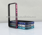 pc tpu bumper for iphone 5 (2 in 1)