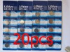 20 x Original CR1620,BR1620,1620,3V LITHIUM BATTERIES