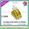 Knife Switch Double-2P20A! remote control switch