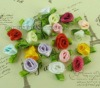 Decoration satin ribbon flower rose flower