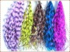 "5""-8"" Real Colored Pheasant Feather for Hair Extensions"