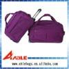 purple trolly travel bag/sport bag