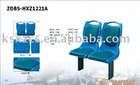 Injection molding plastic bus seat