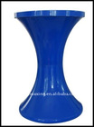 Blue Plastic Folding Stools Tam Tam Stools/Kartell/Knoll/Vitra/Ghost Stool for Bar & Outdoor & Garden