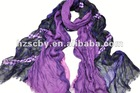 spring light print italian silk scarf