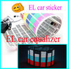 Vivid equalizer el car sticker