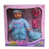 "16"" B/O fashion baby doll funny baby doll vinyl doll reborn doll with sound reborn doll"