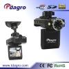 Tda-663B HD Dual Rotation Lens Vehicle Black Box 1080P 720P