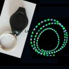 Led flashlight keychain