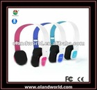 High-end and Foldable Bluetooth Wireless Headphone with Touch Button, Colorful Bluetooth Mobile phone /iphone headphones