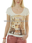 Ladies' t shirt transfer wholesale