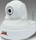 3g gsm camera alarm security system with sms alert alarm&ptz ir night vision