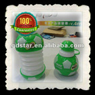 450nl funny PE plastic Folding water bottle
