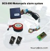 BCS-890 motorcycle alarm system with anti-wire cut