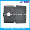360 degree rotating leather flip open case for Google Nexus 7