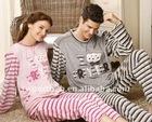 men and women yarn dyed velvet pajamas