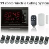99 Zones LED Display Wireless Service Emergency Response Nurse Call Calling Paging System for Hospital Clinic AT-ECS-H