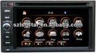 2Din Universal 2 din car dvd player with GPS 3G and Bluetooth green and white light