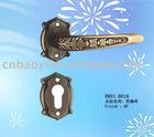 New design classical door handles with roset
