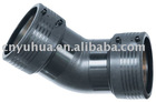 combined Electrofusion Elbow pe gas pipe fitting