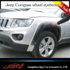 PP material wheel eyebrow for Jeep Compass