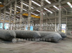 Ship airbag for launching