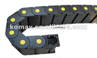 reinforced nylon 3850 series industrial flexible cable drag chain