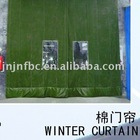 coldproof door curtain