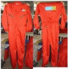Long Sleeve orange Safety Coverall/coverall