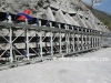 belt conveyor for coal mining, crushing and screening plant