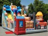 hot sale outdoor amusement park inflatable slide