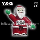 inflatable christmas father