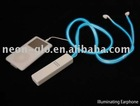 EL Lighting Earphone/ Luminous Earphone with EL wire for Ipod,Nano, Iphone 3G,3GS