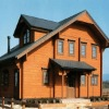 Wooden house russian prefabricated house wooden easy assembly wooden house QM-96