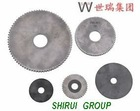 High Hardness/ Resistance Cemented Carbide Saw Blades with various sizes