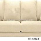 RPET eco friendly comfortable white sofa cover