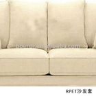 RPET eco friendly comfortable white sofa cover