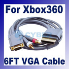 1.8 m VGA HD AV Cable for Xbox 360