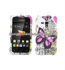 Hard case for Samsung Galaxy Rush M830 rubber coating