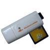 white colour USB 2.0 High-speed SD series card reader