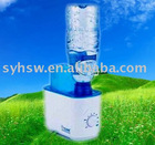 Portable Ultrasonic Air Humidifier, Removable Bottle Fills Easily with Tap water