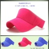 new plain sports adjustable sun visor cap hat ccap-0610