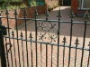 Decorative wrought iron fittings