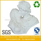 White Marble Love Bust Statue